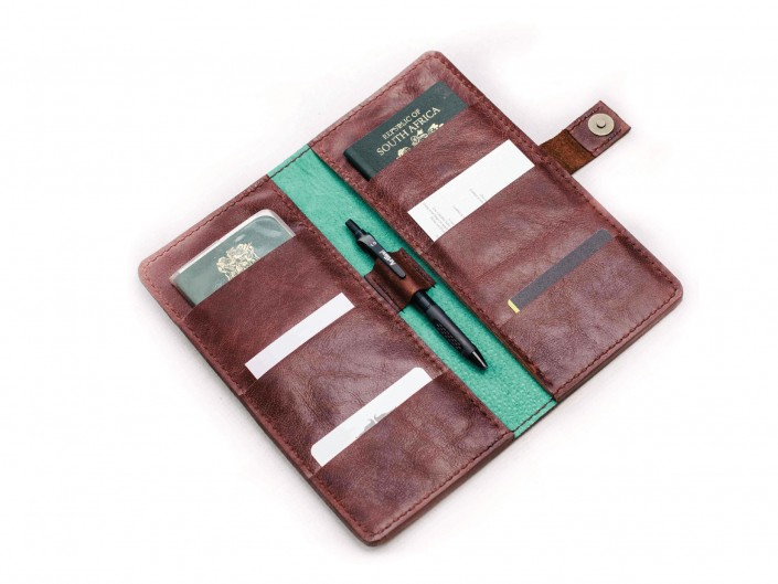 Dual Passport Wallet